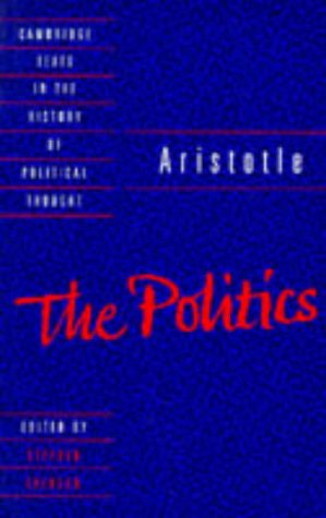 9780521357319: Aristotle: The Politics (Cambridge Texts in the History of Political Thought)