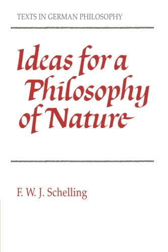 9780521357333: Ideas for a Philosophy of Nature (Texts in German Philosophy)