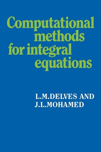 9780521357968: Computational Methods for Integral Equations