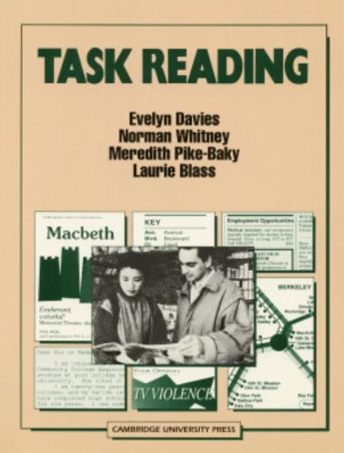 Task Reading (0521358108) by Evelyn Davies; Norman Whitney; Meredith Pike-Baky; Laurie Blass