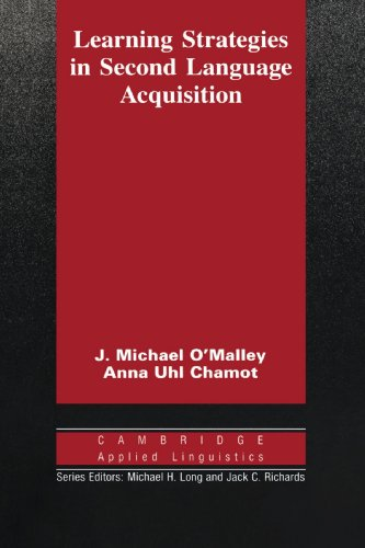 9780521358378: Learning Strategies in Second Language Acquisition (Cambridge Applied Linguistics)