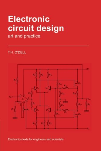 9780521358583: Electronic Circuit Design: Art and Practice (Electronics Texts for Engineers and Scientists)