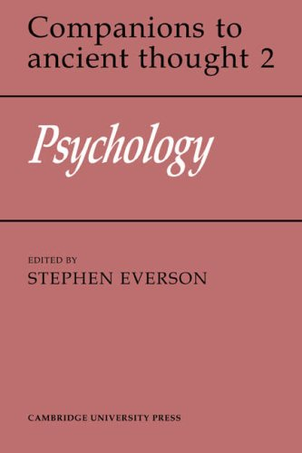 9780521358613: Psychology (Companions to Ancient Thought)