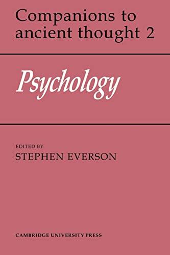 9780521358613: Psychology