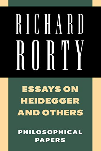 9780521358781: Richard Rorty: Philosophical Papers Set: Essays on Heidegger and Others: Volume 2 Paperback (Philosophical Papers (Cambridg)