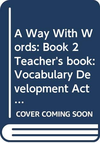 9780521359207: A Way With Words: Book 2 Teacher's book: Vocabulary Development Activities for Learners of English