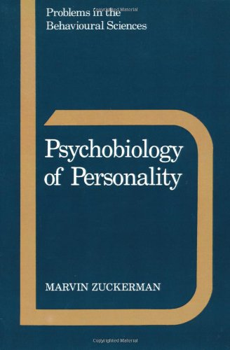 9780521359429: Psychobiology of Personality (Problems in the Behavioural Sciences)