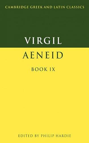 9780521359528: Virgil: Aeneid Book IX (Cambridge Greek and Latin Classics)