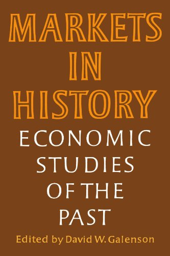 9780521359870: Markets in History: Economic Studies of the Past (Wiley Series in Probability and)