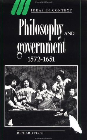 9780521360005: Philosophy and Government 1572-1651