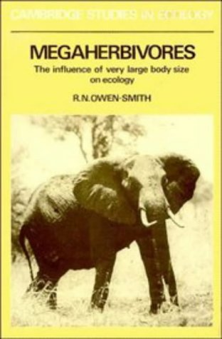 9780521360203: Megaherbivores: The Influence of Very Large Body Size on Ecology