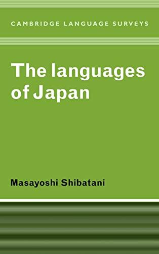The Languages of Japan: Shibatani, Masayoshi