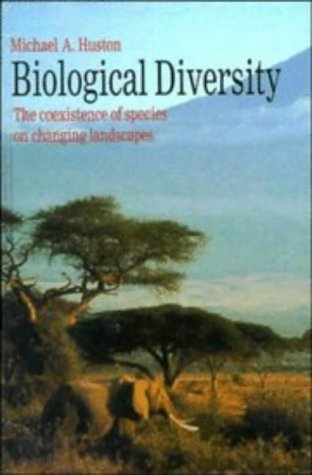 9780521360937: Biological Diversity: The Coexistence of Species (Cambridge Studies in Ecology)
