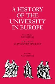 9780521361088: A History of the University in Europe: Volume 4, Universities since 1945