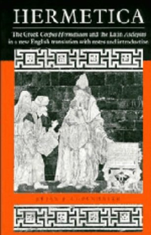 9780521361446: Hermetica: The Greek Corpus Hermeticum and the Latin Asclepius in a New English Translation, with Notes and Introduction