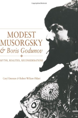 9780521361934: Modest Musorgsky and Boris Godunov Hardback: Myths, Realities, Reconsiderations (Cambridge Opera Handbooks)