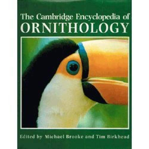 9780521362054: Cambridge Encyclopedia of Ornithology (A Cambridge Reference Book)