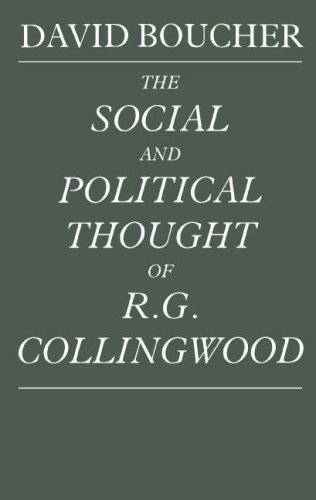 9780521363846: The Social and Political Thought of R. G. Collingwood