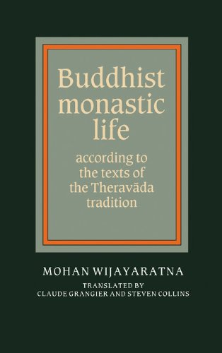 9780521364287: Buddhist Monastic Life: According to the Texts of the Theravada Tradition