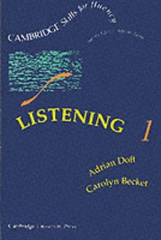 Listening 1.k7: Doff, Adrian/Becket, Carolyn