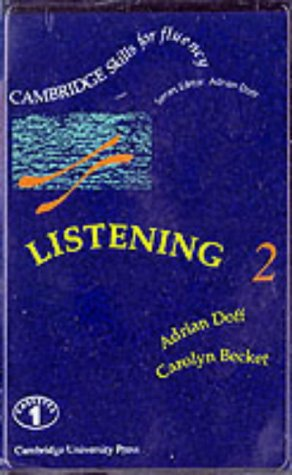 9780521365451: Listening 2 Intermediate Cassettes (2) (Cambridge Skills for Fluency)