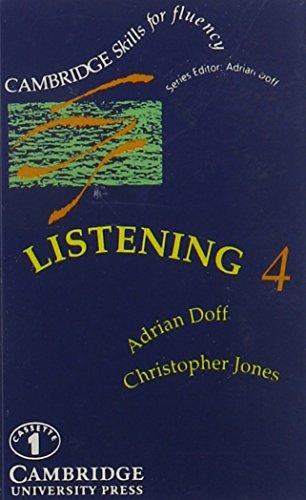 Cambridge Skills for Fluency: Listening, 4 (Audio Book): Adrian Doff & Christopher Jones