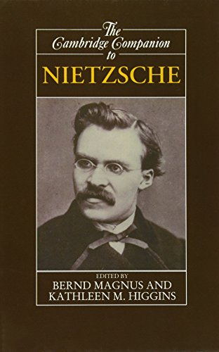 9780521365864: The Cambridge Companion to Nietzsche (Cambridge Companions to Philosophy)