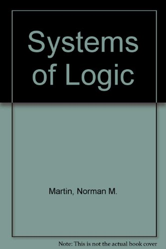 9780521365895: Systems of Logic