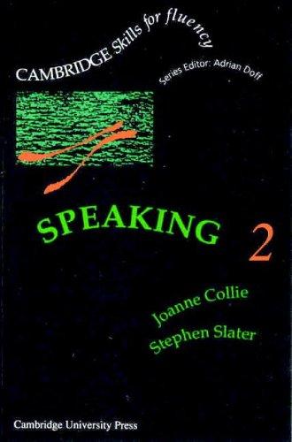 Speaking 2 Intermediate Cassette (Cambridge Skills for: Collie, Joanne, Slater,