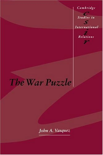 9780521366731: The War Puzzle (Cambridge Studies in International Relations)