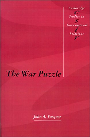 9780521366748: The War Puzzle (Cambridge Studies in International Relations)