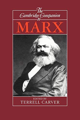 9780521366946: The Cambridge Companion to Marx (Cambridge Companions to Philosophy)