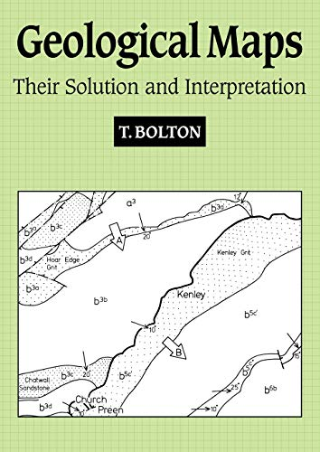 9780521367059: Geological Maps Paperback: Their Solution and Interpretation