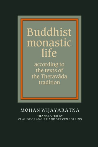 9780521367080: Buddhist Monastic Life: According to the Texts of the Theravada Tradition