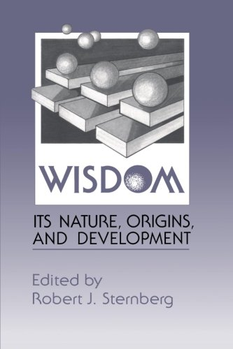 9780521367189: Wisdom: Its Nature, Origins, Devt