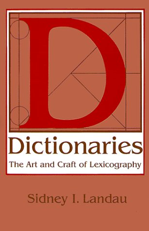 9780521367257: Dictionaries: The Art and Craft of Lexicography