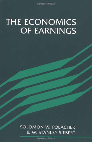 9780521367288: The Economics of Earnings