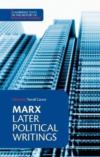 9780521367394: Marx: Later Political Writings (Cambridge Texts in the History of Political Thought)