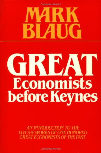 9780521367417: Great Economists before Keynes: An Introduction to the Lives and Works of One Hundred Great Economists of the Past