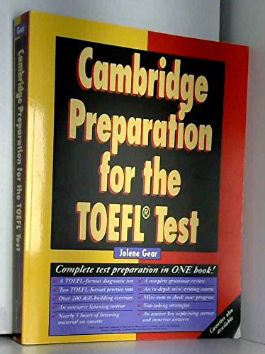 9780521367455: Cambridge Preparation for the TOEFL® Test Book