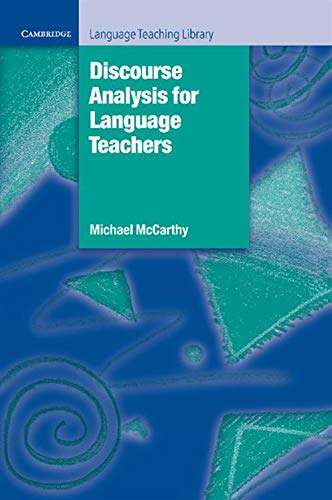 9780521367462: Discourse Analysis for Language Teachers Paperback (Cambridge Language Teaching Library)