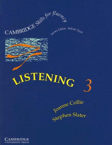 9780521367493: Listening 3 Upper-intermediate Student's Book (Cambridge Skills for Fluency)