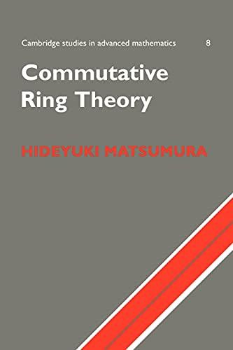 9780521367646: Commutative Ring Theory