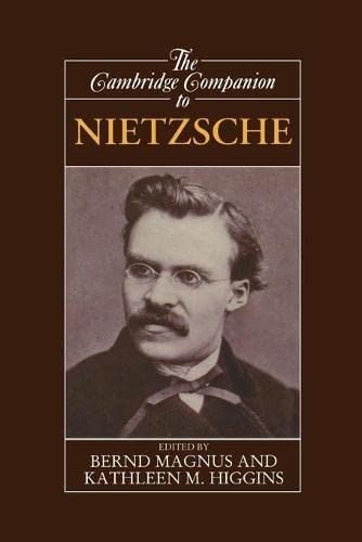 9780521367677: The Cambridge Companion to Nietzsche Paperback (Cambridge Companions to Philosophy)