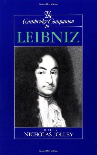 9780521367691: The Cambridge Companion to Leibniz Paperback (Cambridge Companions to Philosophy)