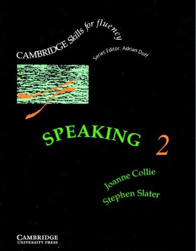 9780521367899: Speaking 2