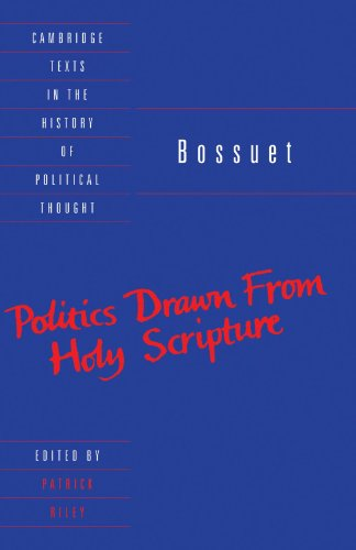 9780521368070: Bossuet: Politics Drawn from the Very Words of Holy Scripture (Cambridge Texts in the History of Political Thought)