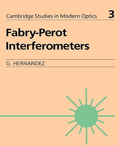 9780521368124: Fabry-Perot Interferometers