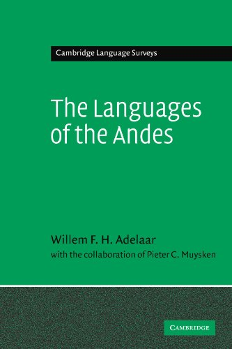 9780521368315: The Languages of the Andes (Cambridge Language Surveys)