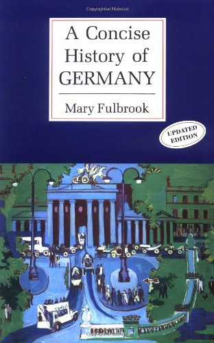 9780521368360: A Concise History of Germany (Cambridge Concise Histories)